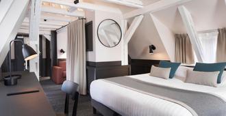 龍酒店 - 史特拉斯堡 - 斯特拉斯堡 - 臥室