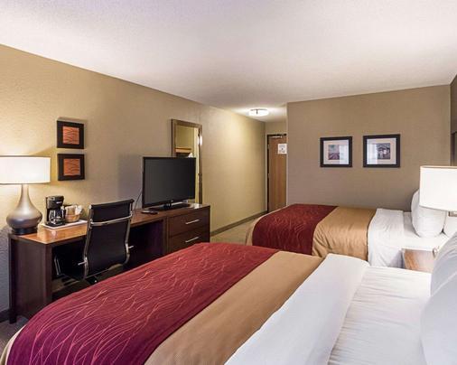 Comfort Inn East - Wichita - Makuuhuone