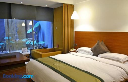 Hotel Double One Beitou - Taipei - Schlafzimmer