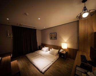 라온 호텔 함양 - 함양 - 침실