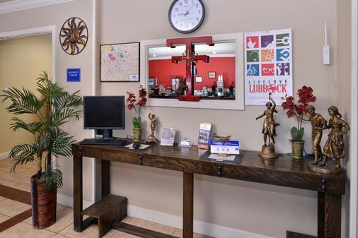 Americas Best Value Inn Lubbock E - Lubbock - Khu vực làm việc