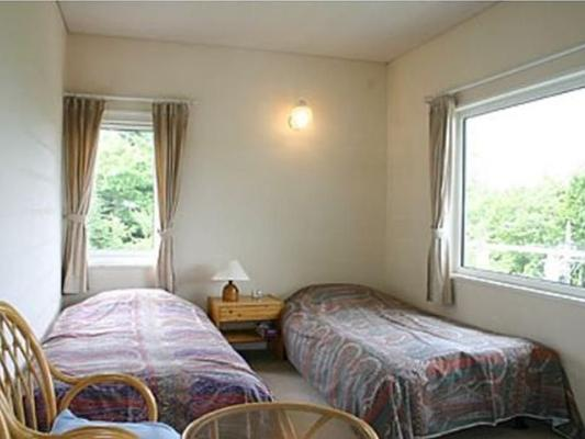 山湖旅館及小屋 - 山中湖村 - 臥室