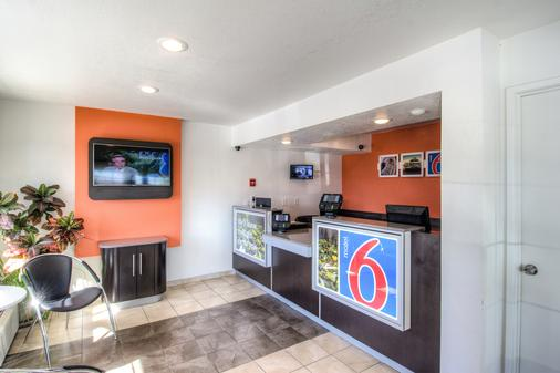 Motel 6 Redding South - Redding - Vastaanotto