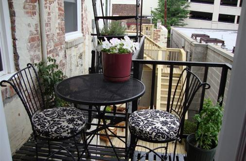 Blancnoir - Baltimore - Balcony