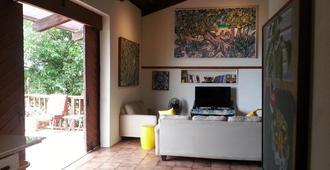 Gordon's Island Art Loft - Saint Thomas Island - Wohnzimmer