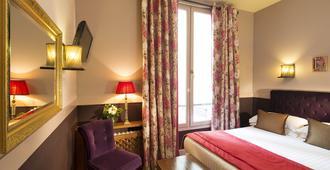 Hotel Des Marronniers - פריז - חדר שינה