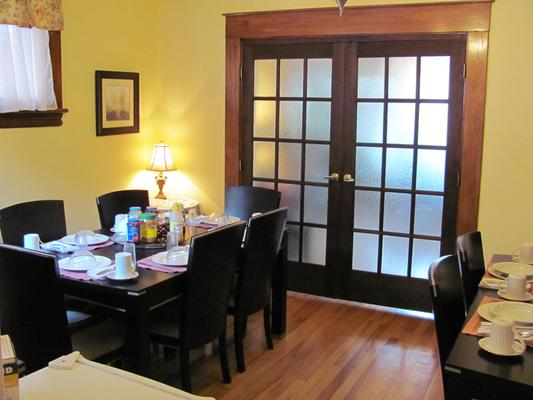 Rideau Inn - Ottawa - Dining room