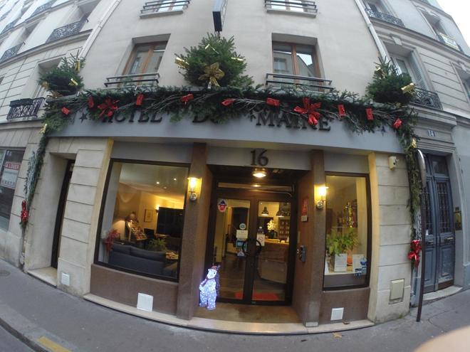 Hôtel du Maine - París - Edificio