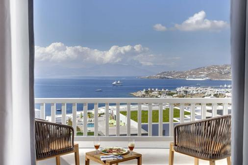 Myconian Naia - Preferred Hotels & Resorts - Mýkonos - Parveke