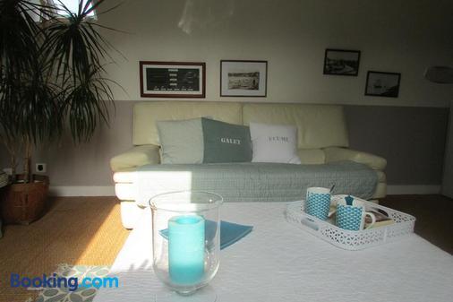 l'Agapanthe - Pléneuf-Val-André - Living room