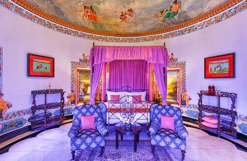 Shiv Niwas Palace By Hrh Group Of Hotels - Udaipur - Living room