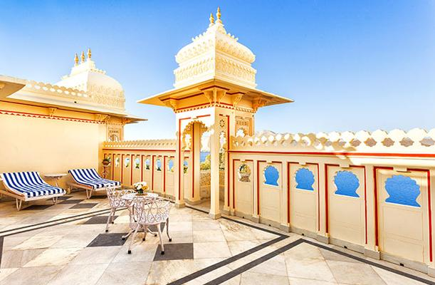 Shiv Niwas Palace By Hrh Group Of Hotels - Udaipur - Μπαλκόνι