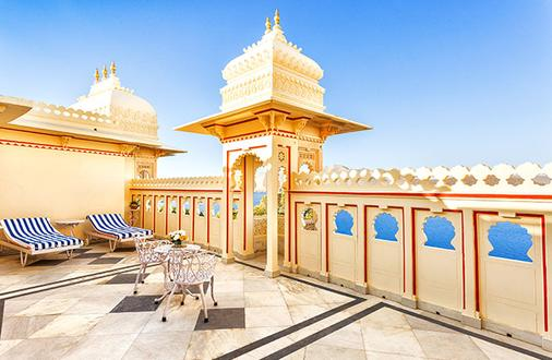 Shiv Niwas Palace By Hrh Group Of Hotels - Udaipur - Ban công