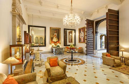 Shiv Niwas Palace By Hrh Group Of Hotels - Udaipur - Lobby