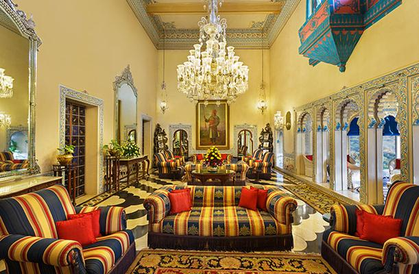 Shiv Niwas Palace By Hrh Group Of Hotels - Udaipur - Σαλόνι