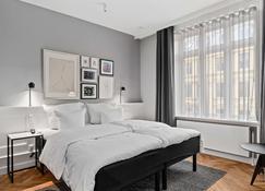 هوتل كونج آرثر - كوبنهاغن - غرفة نوم