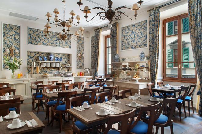 Fh55 Hotel Calzaiuoli - Florencia - Restaurante