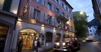 斯特恩羅曼帝克酒店 - 丘爾 - 庫爾 - 建築