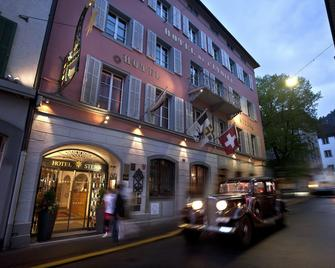 Hotel Stern Chur - Coira - Edificio