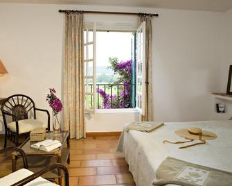 Hôtel Saint-Vincent - Ramatuelle - Bedroom