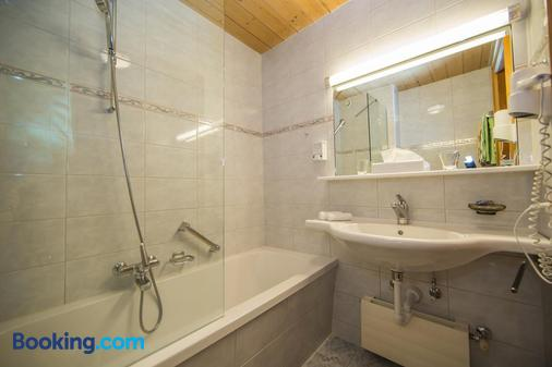 Hotel Cresta - Samnaun - Bathroom
