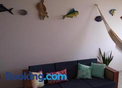 Melhor praia da Paraíba - Cabedelo - Sala de estar