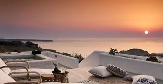 Santo Maris Oia Luxury Suites & Spa - אויה - מרפסת