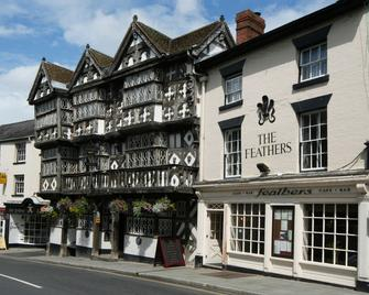 The Feathers Hotel - Ludlow - Gebouw