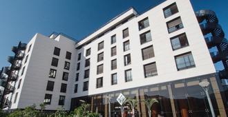 هوتل زينترال سنتر - بلايا دي لاس الأمريكتين - مبنى