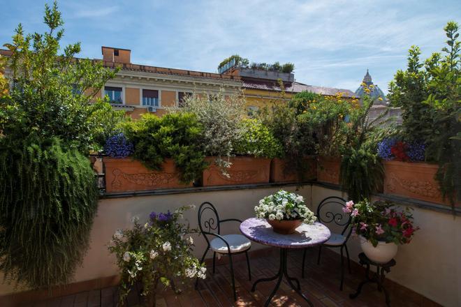 Atlante Garden Hotel - Rome - Balcony