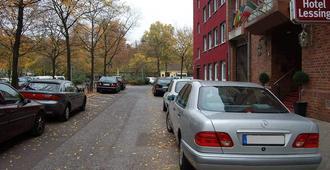 Hotel Lessing - Düsseldorf - Außenansicht