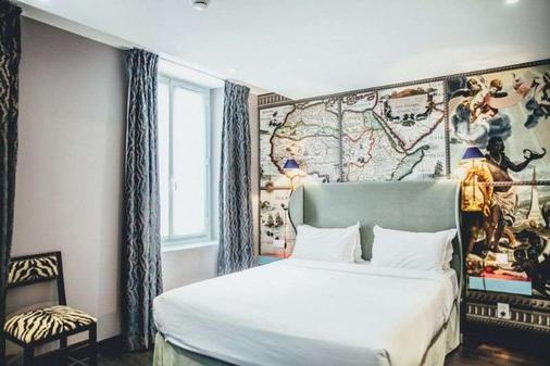 Hotel Du Continent - Pariisi - Makuuhuone