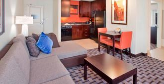 Residence Inn Houston I-10 West/Park Row - Houston - Sala de estar