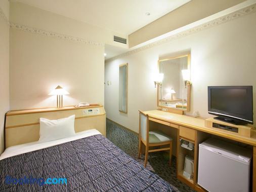 山形七日町華盛頓酒店 - 山形市 - 臥室