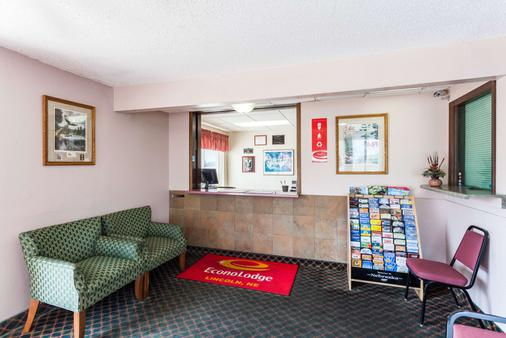Econo Lodge - Lincoln - Front desk