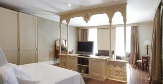 グラン ホテル ラ ペルラ - パンプローナ - 寝室