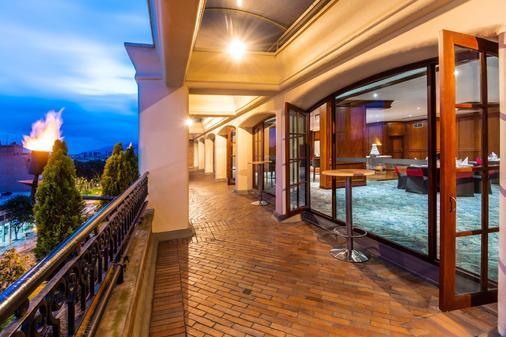 Hotel Dann Carlton Bogota - Bogotá - Parveke
