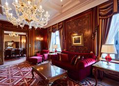 Fairmont Grand Hotel - Kyiv - Kijów - Sypialnia