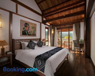 Mai Chau Hideaway Resort - Mai Châu - Bedroom