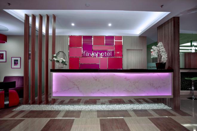 龍目島蘭科馬塔蘭菲芙飯店 - 馬塔蘭 - 櫃檯