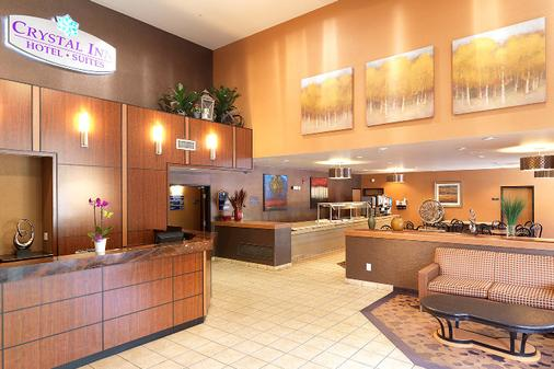 Crystal Inn Hotel & Suites Midvalley - Murray - Front desk