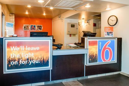 Motel 6 Kansas City Southwest - Lenexa - Lenexa - Vastaanotto