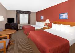 Super 8 by Wyndham St. Ignace - Saint Ignace - Bedroom