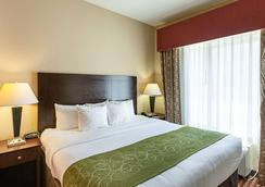 Comfort Suites Medical Center near Six Flags - San Antonio - Phòng ngủ