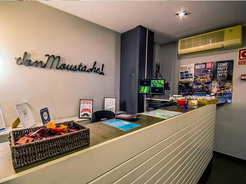 Don Moustache Hostel - Barcelona - Lễ tân