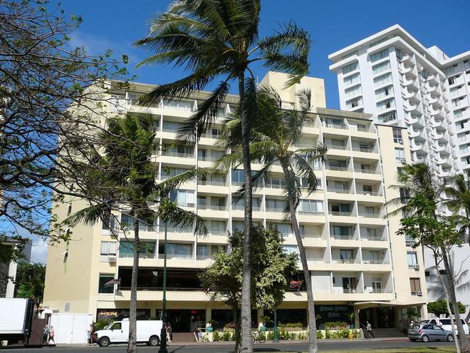 Castle Waikiki Grand Hotel - Honolulu - Building