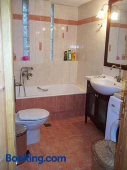 Zacharoula Rooms - Raches - Bathroom