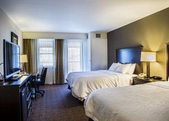 Hampton Inn & Suites- Lake Placid, NY - Lake Placid - Yatak Odası