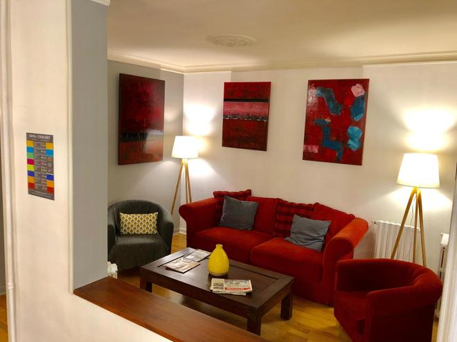 Citotel Le Volney - Saumur - Living room