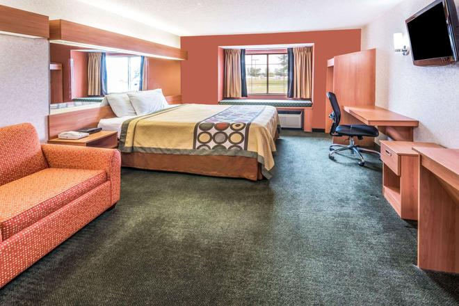 Super 8 by Wyndham Columbus West - Columbus - Bedroom